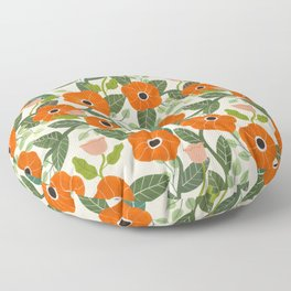 Poppies Floor Pillow