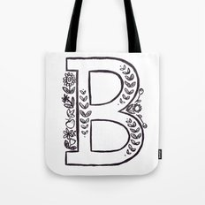 B is for Tote Bag
