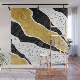 Torn Abstract Art 05 Wall Mural