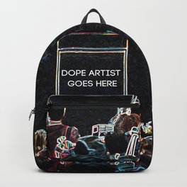 Dope Artist Goes Here Backpack