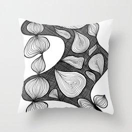 Onion Tears Throw Pillow