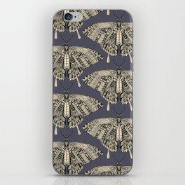 swallowtail butterfly dusk black iPhone Skin