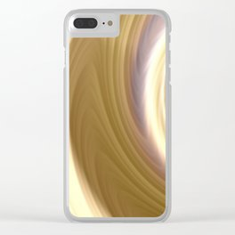 Blonde Highlights Clear iPhone Case