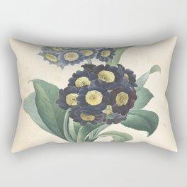 primula auricula Redoute Roses 4 Rectangular Pillow