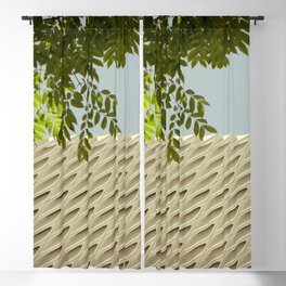The Broad In the Afternoon Vintage Retro Photography II Blackout Curtain