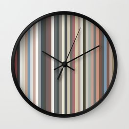 Record Spines Wall Clock