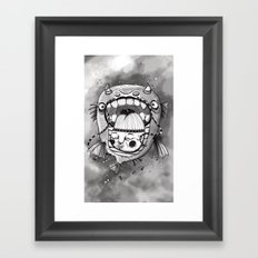 Look at me Framed Art Print