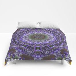 Lavender Kaleidoscope Comforters