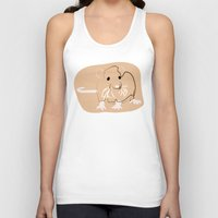 rat Tank Tops featuring Rat by Jessica Slater Design & Illustration