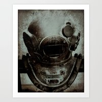 nemo Art Prints featuring Captain Nemo by Bella Blue Photography