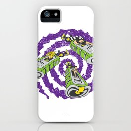 Tentacle Traveling iPhone Case