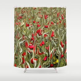 Opium Of The Masses Shower Curtain