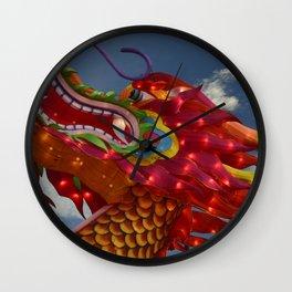 Dragon Head Wall Clock