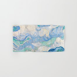 Wheat Field with Cypresses by Vincent van Gogh Hand & Bath Towel