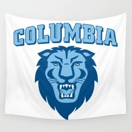 Columbia University Lions Wall Tapestry