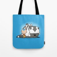 appa Tote Bags featuring You Arrowhead! by adho1982