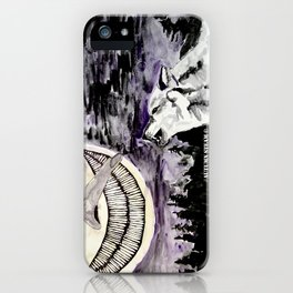 On The Full Moon iPhone Case