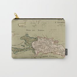 Map Of Hispaniola 1767 Carry-All Pouch