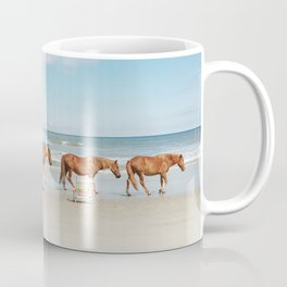 Summer Coast Horse Stride Coffee Mug