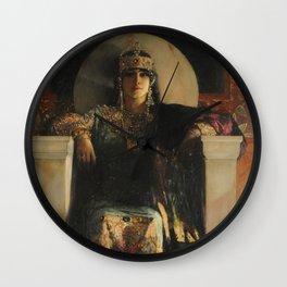 The Empress Theodora, Jean-Joseph Benjamin-Constant Wall Clock
