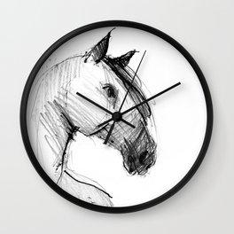 Horse (a head) Wall Clock