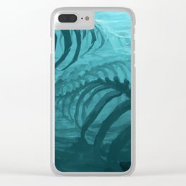 They can smell your fear Clear iPhone Case