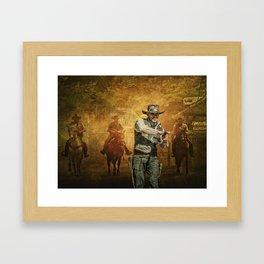 Gunfight at the OK Corral Framed Art Print