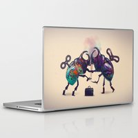 fight Laptop & iPad Skins featuring Fight by Tanya_tk