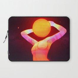 Sun Head (Remake) Laptop Sleeve