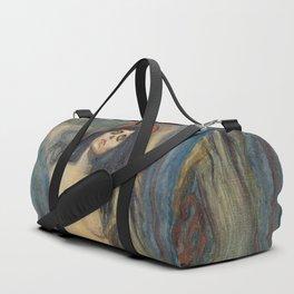 Madonna by Edvard Munch Duffle Bag