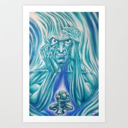 Anger & Disappointmen Art Print