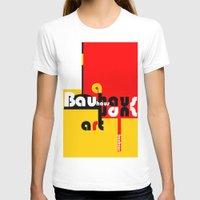 bauhaus T-shirts featuring Bauhaus Lamp by Simona Susnea