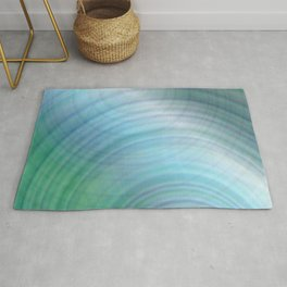 Light blue abstract Rug