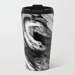 Burl With A Curl. Travel Mug