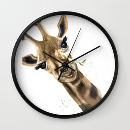 Gitaffe Wall Clock