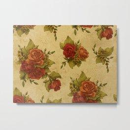 Antique Wallpaper 1 Metal Print