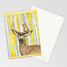 Herbert Finds Home Among the Aspens Stationery Cards