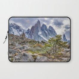 Snowy Mountains at Laguna Torre El Chalten Argentina Laptop Sleeve