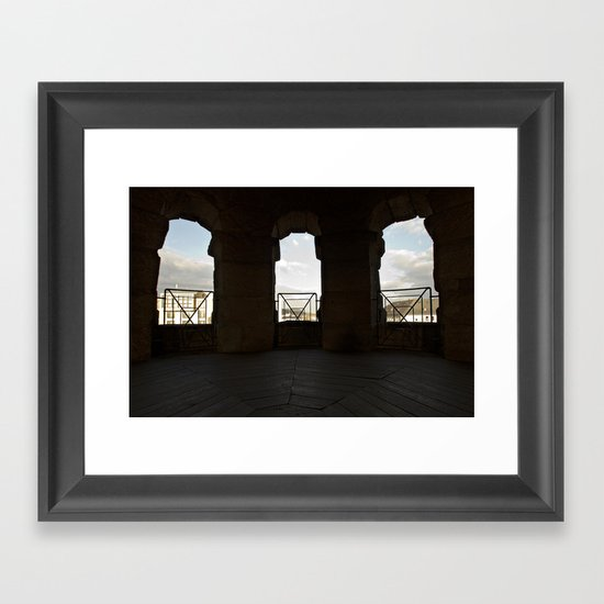 Opening to a new world Framed Art Print