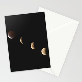 Lunar Moon Phases Stationery Cards