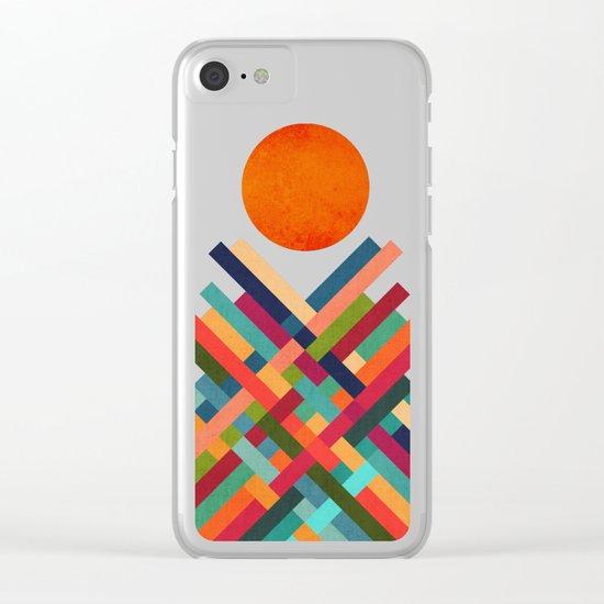Sun Shrine Clear iPhone Case