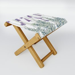 Lavender, Illustration Folding Stool