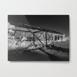 Infrared architecture by Jean-François Dupuis Metal Print