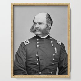 General Burnside Serving Tray