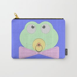 Little baby crocodile (cub) with a bow tie and a pacifier Carry-All Pouch