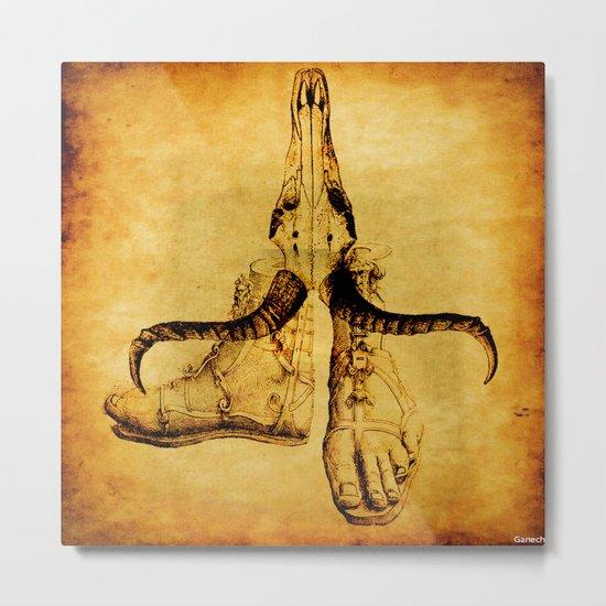 the mystic feet  Metal Print