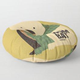 Hello Wombat Floor Pillow