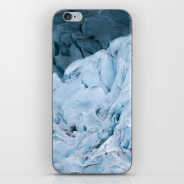 Blue Glacier in Norway - Landscape Photography iPhone Skin