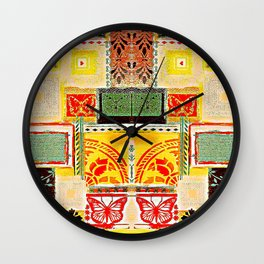 Ethnic art Wall Clock