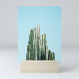 Tall cacti | Cactus photo print | Colourful travel wanderlust photography art Mini Art Print
